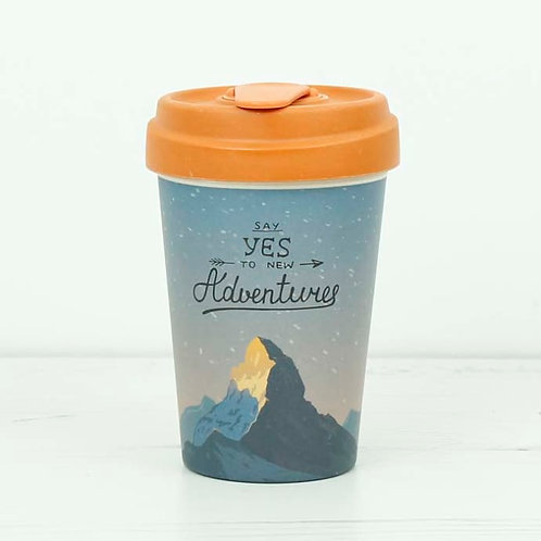 Bamboo Coffee Cup - Say Yes to Adventures
