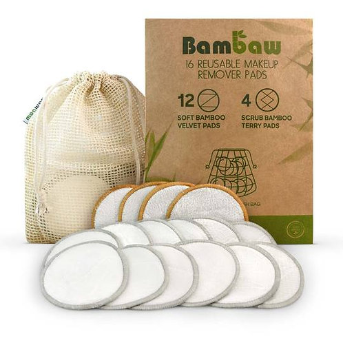 Reusable Makeup Remover Pads - Bambaw