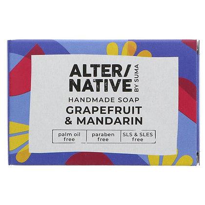 Handmade Grapefruit & Mandarin Soap - Suma