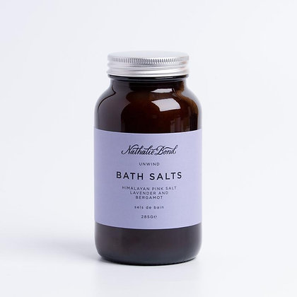 Unwind Bath Salts - Nathalie Bond