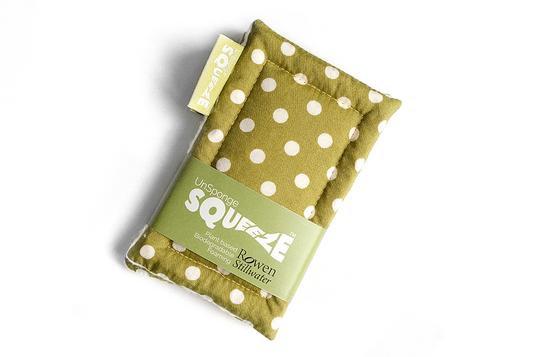 UnSponge Squeeze™ - Green Polka Dot