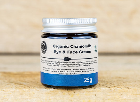 Organic Chamomile Face & Eye Cream - Heavenly Organics