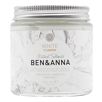 Natural Toothpaste with Fluoride – Ben & Anna