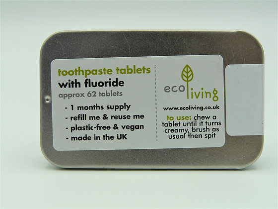 Toothpaste Tablets - ecoLiving