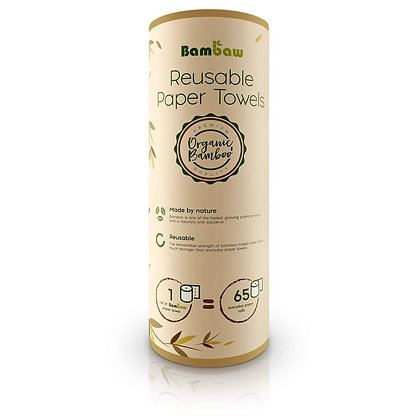 Reusable Washable Paper Towels – Bambaw
