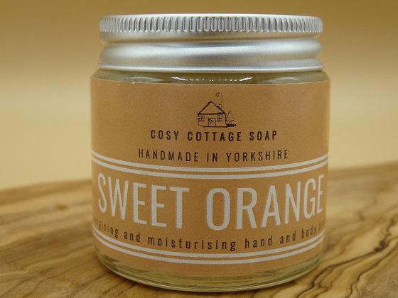 Energising Sweet Orange Hand & Body Cream – Cosy Cottage