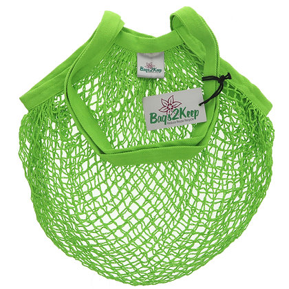 Recycled Cotton String Bag (Various Colours) - Bags2Keep