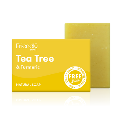Tea Tree & Turmeric Soap - Friendly