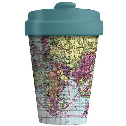 Bamboo Coffee Cup - Around the World