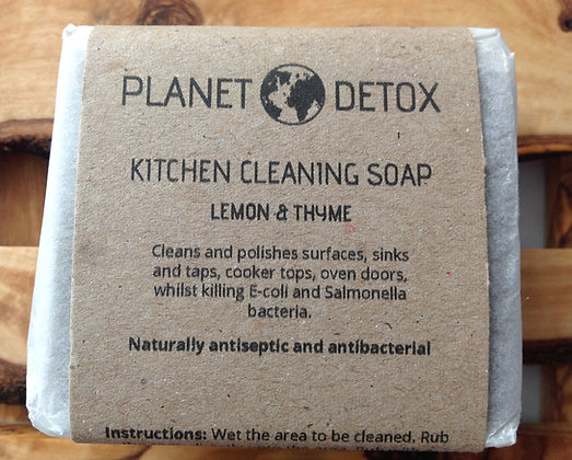 Kitchen Cleaning Soap Bar - Planet Detox