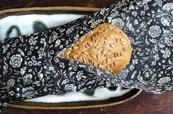 Wax Bread Wrap - Single - Black Rose