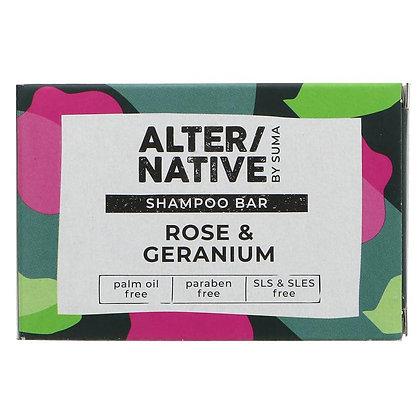 Shampoo Bar - Rose & Geranium - Suma