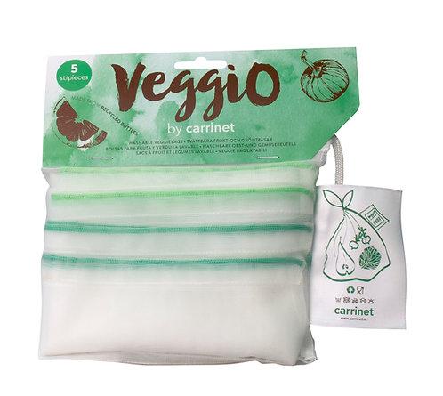 Reusable Drawstrings Net Bags - 5 Pack