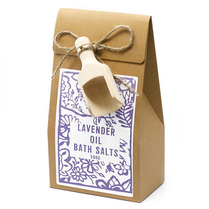 Bath Salts - Lavender Oil - Agnes & Cat