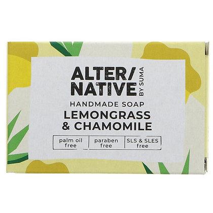 Handmade Lemongrass & Chamomile Soap - Suma