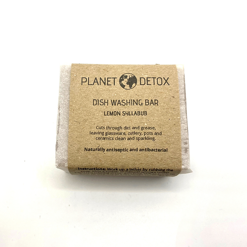 Dish Washing Soap Bar - Planet Detox
