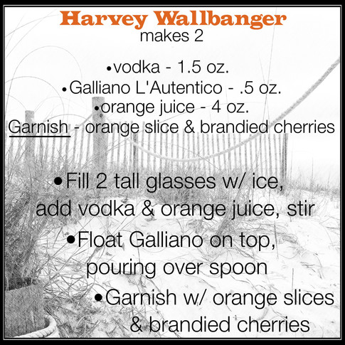Jen's Cool Cocktail Harvey Wallbanger recipe