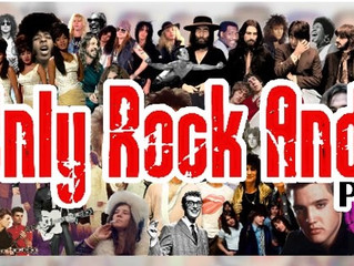 "TUNE in to the ""It's Only Rock and Roll Podcast"""