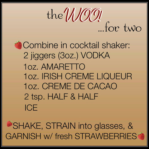 Jen's Cool Cocktail The Woo recipe