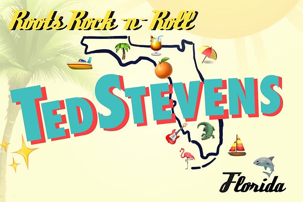 Ted Stevens Roots Rock Florida Banner.jp