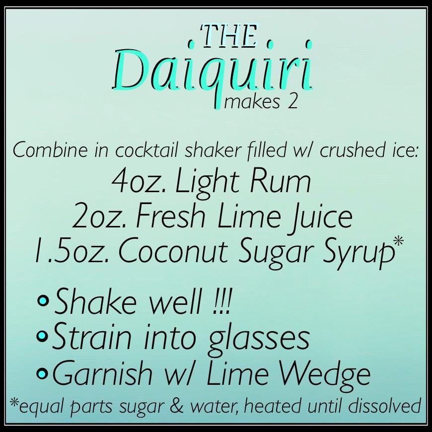Jen's Cool Cocktail The Daiquiri recipe