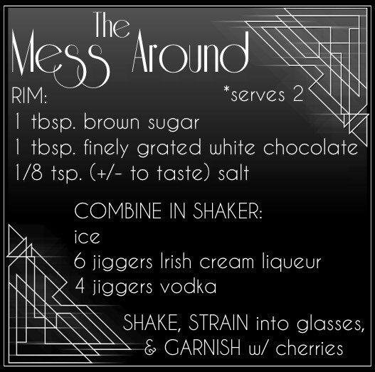 Jen's Cool Cocktail The Mess Around recipe