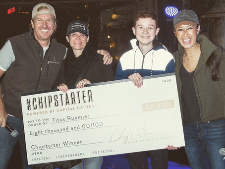 Chip and Joanna Gaines Awards FS4T student with $8,000!