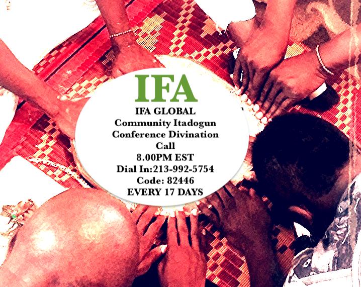 IFA Global Community Prayer IFA/Orisa Veneration Session