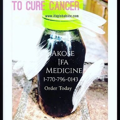 Akose Medicine To Cure Cancer
