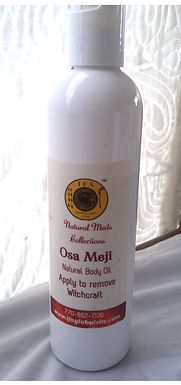 Osa Meji Body Oil- Apply for protection against witchcraft, for positive change