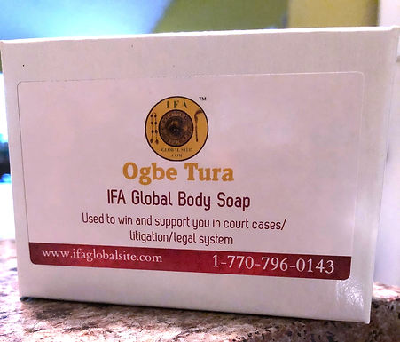 Ogbe Tura IFA Small Soap (Apply To Win Over Court Court Cases & Litigation)