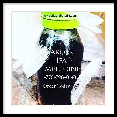 Akose IFA Powerful Medicine for Customers