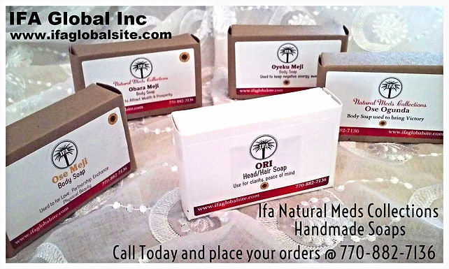 4 Box Set Of IFA Odu Soaps