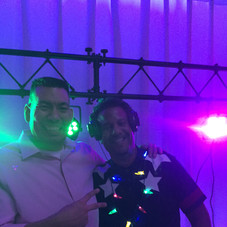 Bar Manager Chris & DJ Minus