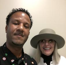 DJ Minus with Diane Keaton