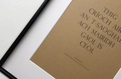 A4 Gaelic Print