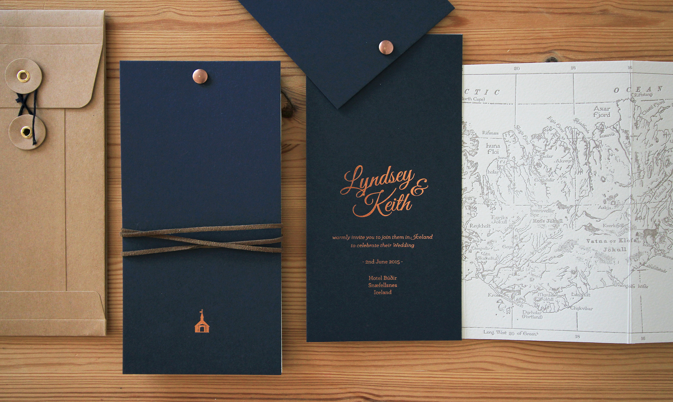 Mapbook Invitations