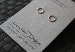 Letterpress Earring Cards