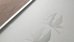 A4 Arctic Terns