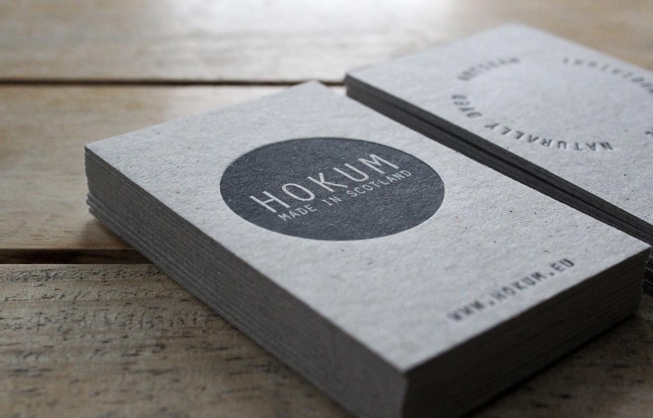 Hokum Business Cards