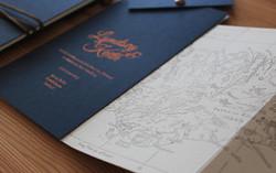 Mapbook Invitations
