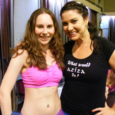 Joanne meets Aziza