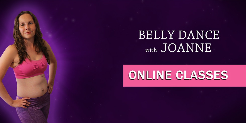 Online Belly Dance Technique Class - 14th May 2021