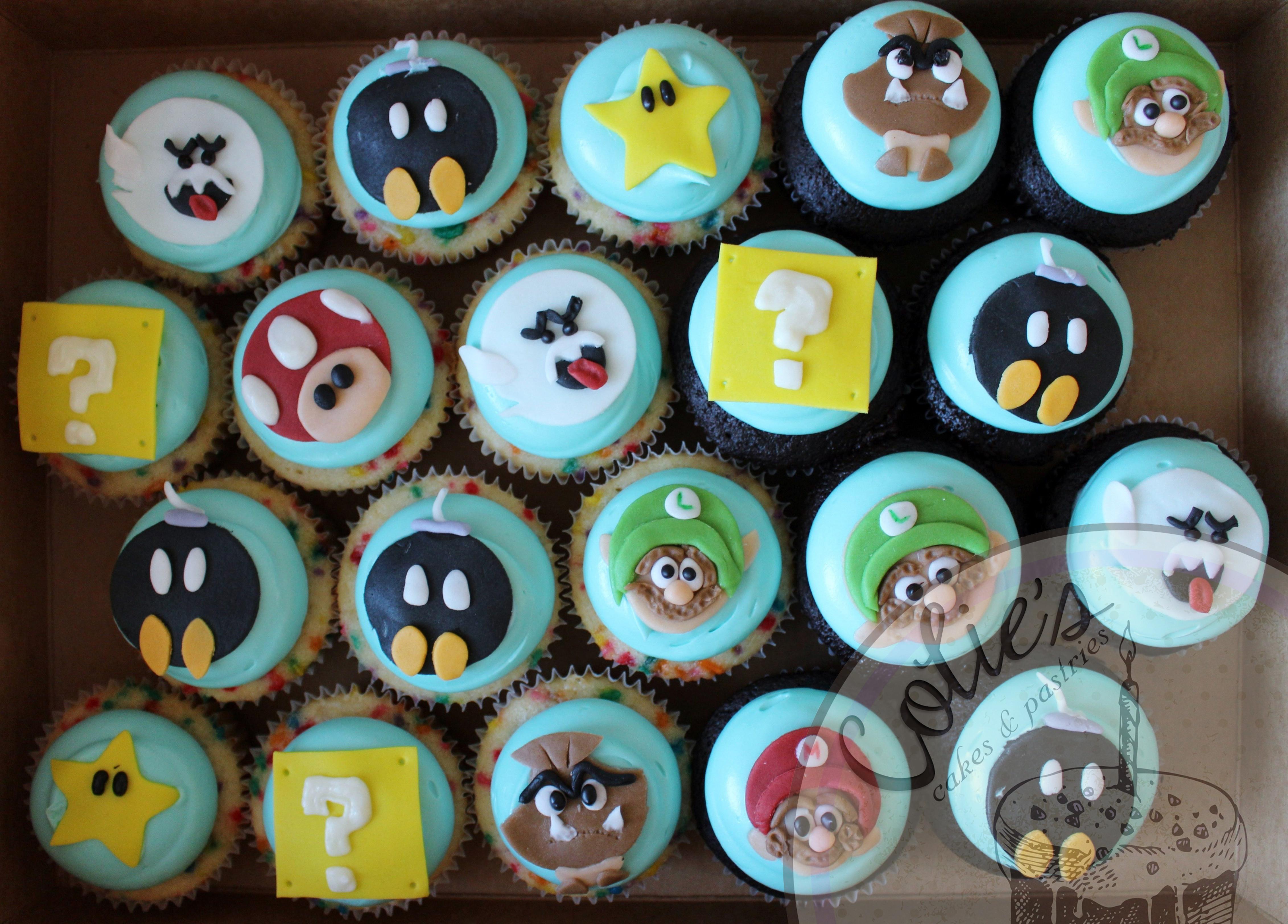 Mario Brother's cupcakes