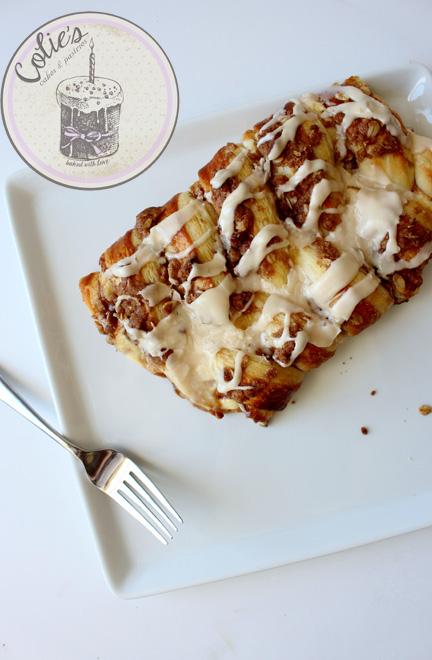 Apple cinnamon Pecan Streusel Danish