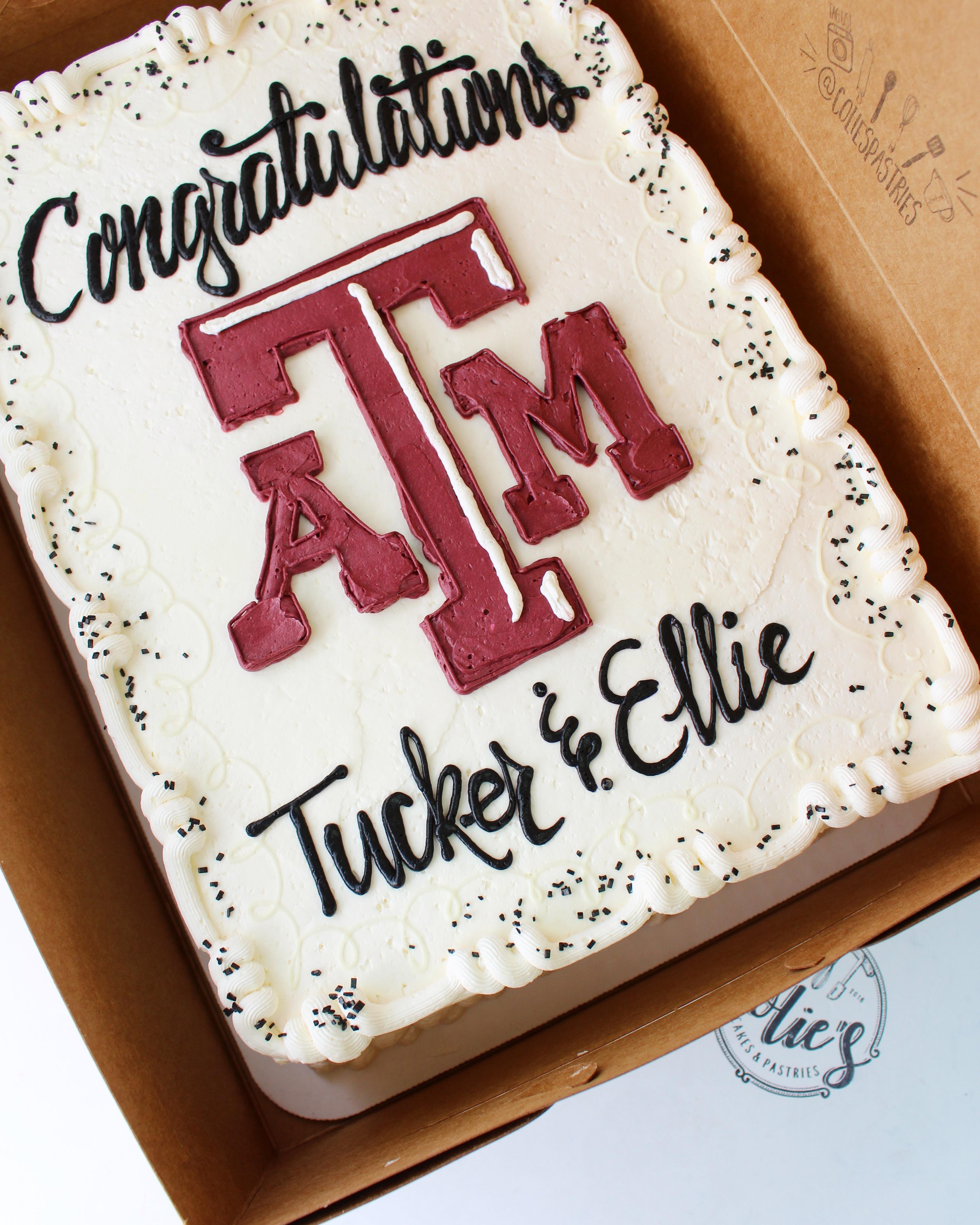 ATM graduation cake
