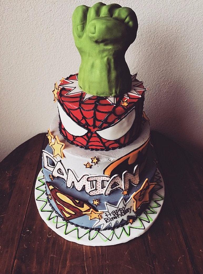 Custom Birthday Cake Denver Co