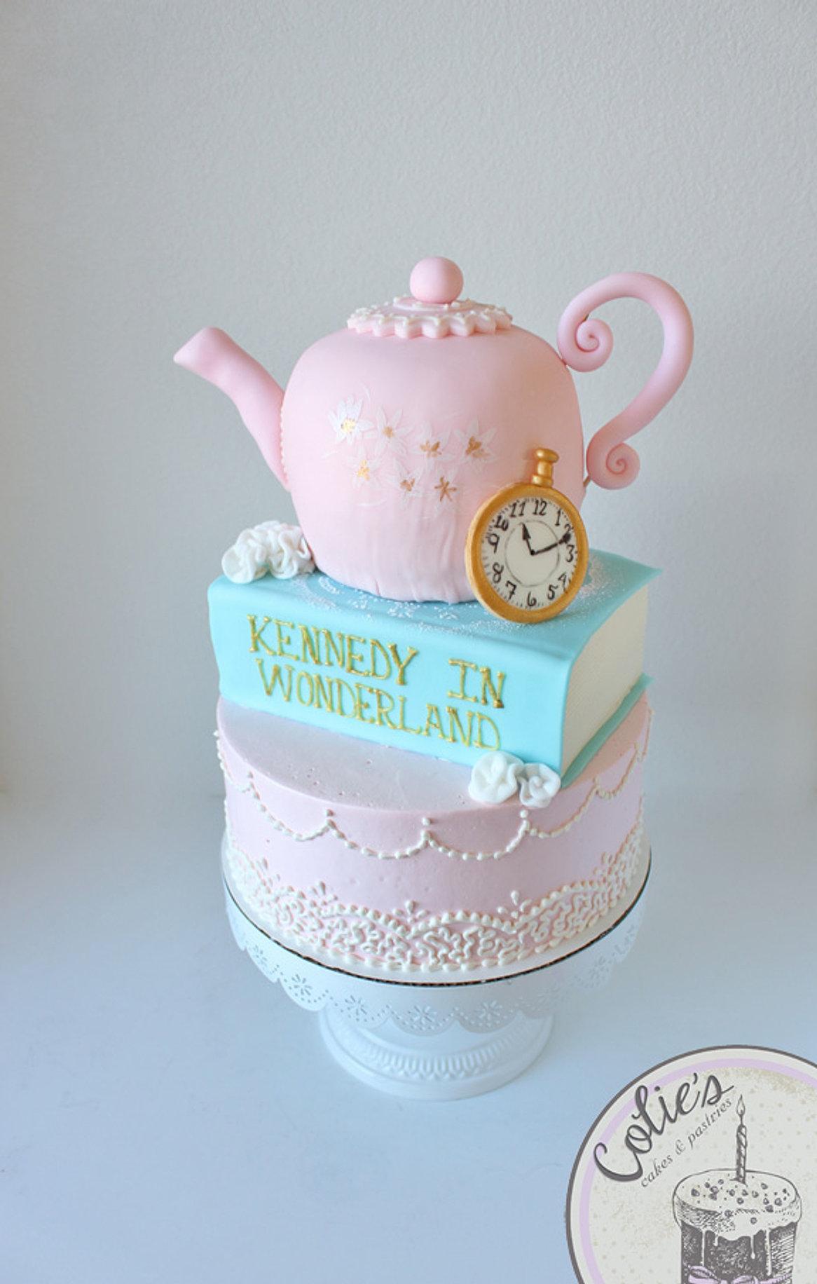 ... Cake; Kennedy Baby Shower ...
