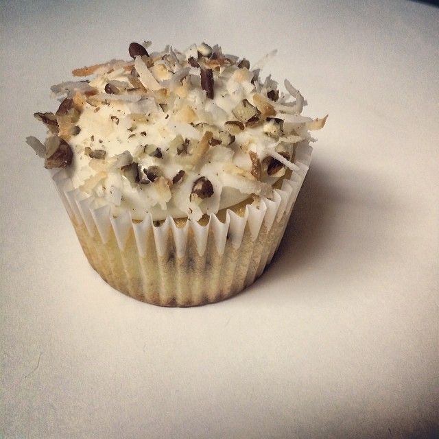 Italian cream #cupcake