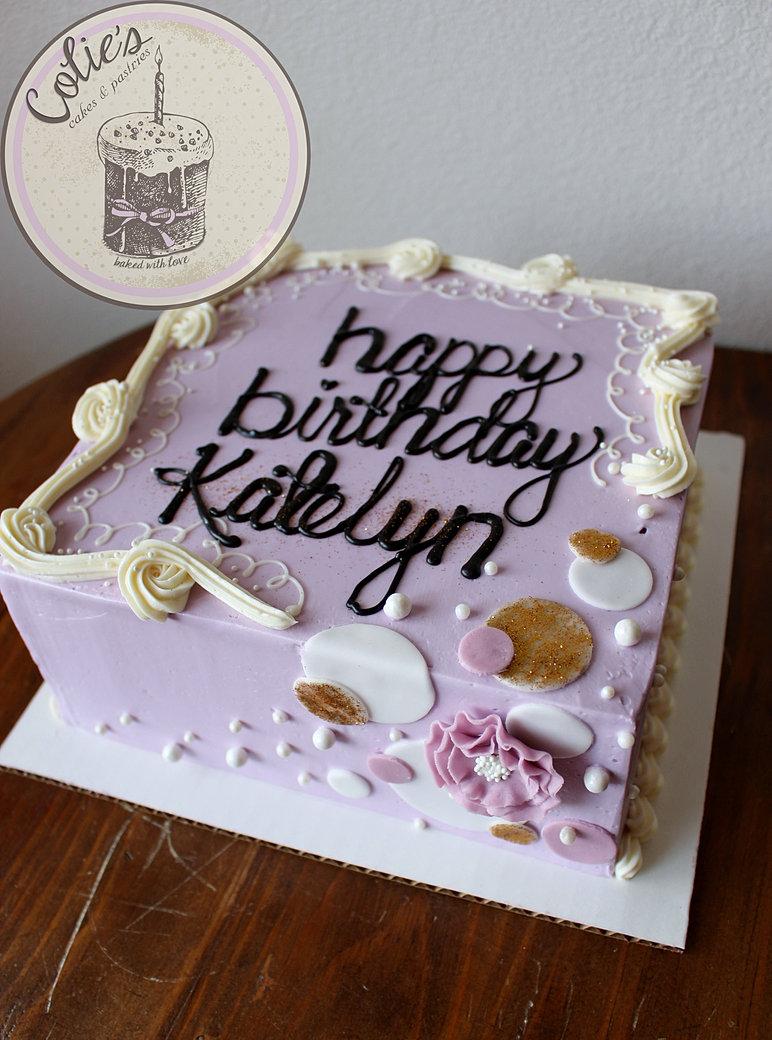 Custom Birthday Cakes Denver Colorado